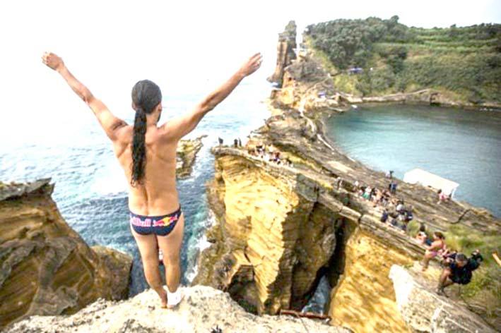 Orlando Duque, tras el reto de conquistar el Red Bull Cliff