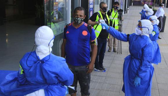 El ministro Ruiz afirmó que departamentos como Antioquia, Boyacá, Casanare, Cesar, Cundinamarca, entre otros, forman parte del grupo que todavía pasa por un punto alto de contagios.