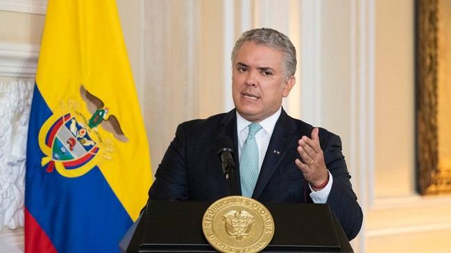 Iván Duque Márquez, Presidente de la República de Colombia.