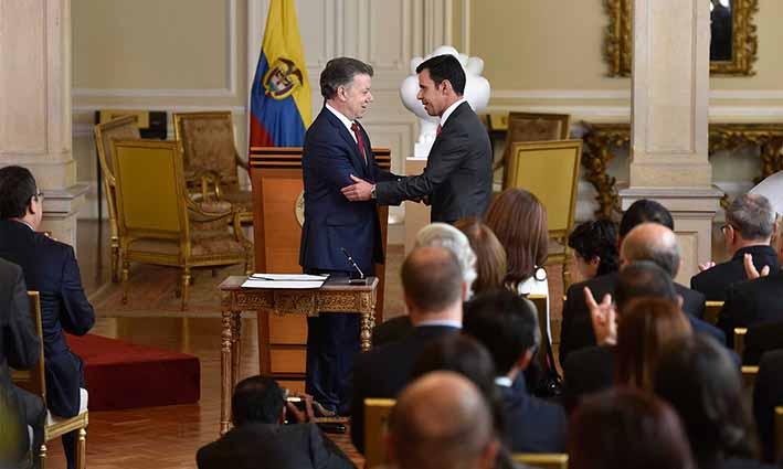 Guillermo rivera es el nuevo ministro del interior for Nuevo ministro del interior