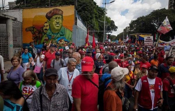 Oficialismo conmemora los 20 años de la llegada al poder de Hugo Chávez
