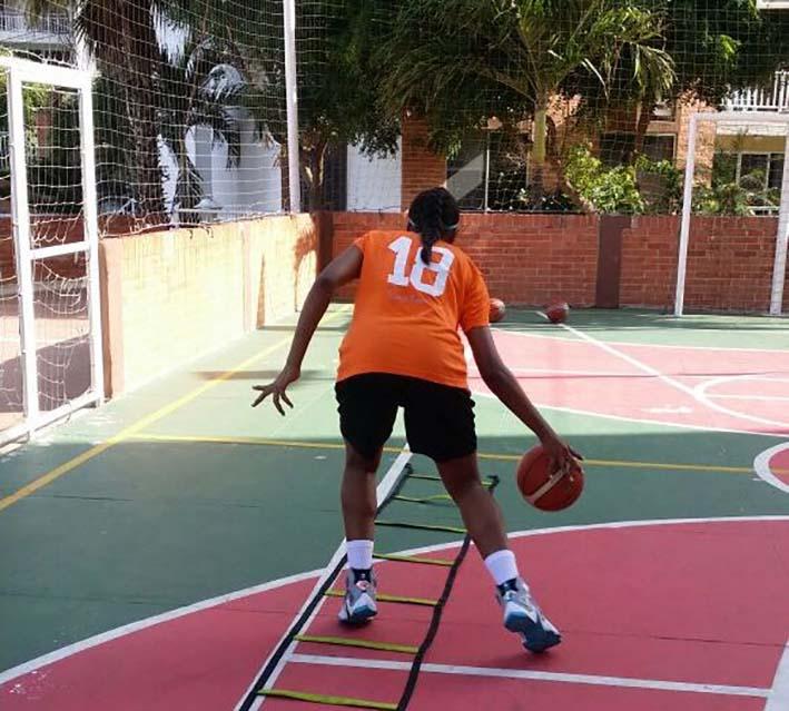 A pesar que es guajira, nunca ha podido representar a su departamento por el poco apoyo a este deporte.