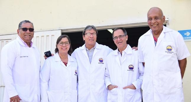 El equipo está conformado por el ingeniero magíster Álvaro Espeleta Maya, la ingeniera Ruby Corvacho Narváez, el ingeniero especialista Omar José Carreño Montoya, el ingeniero especialista Eduardo Cabrera Durán y el doctor Víctor Márquez Zaldúa.