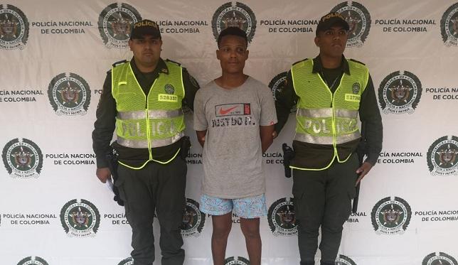 Luis Alberto Coronado Arrieta, capturado
