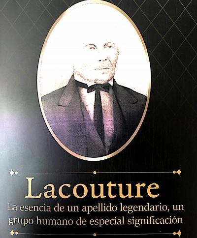 Portada del libro 'Lacouture' la esencia de un apellido legendario, un grupo humano de especial significación.