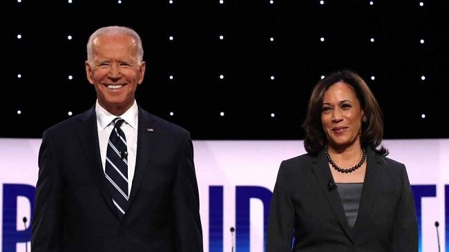 Joe Biden, presidente electo de los Estados Unidos y Kamala Harris, vicepresidenta.