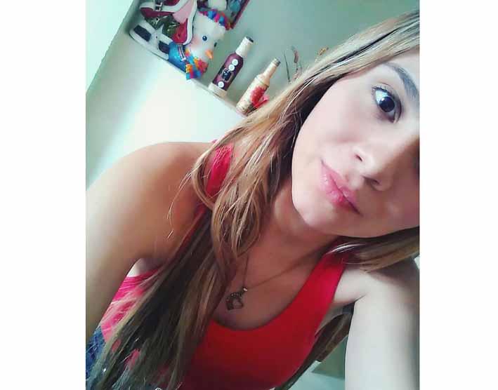 Jesica Galvis, de 20 años.