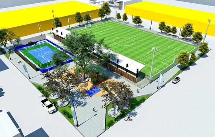 Dps firm acuerdo con el distrito para construcci n de - Complejo deportivo el mayorazgo ...