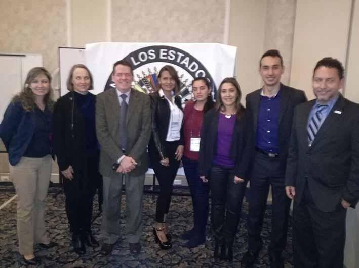 Destacada intervención de Colombia, representada por Bogotá y Santa Marta, en  taller de la OEA  sobre drogas