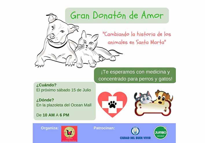 Gran Donatón de Amor para  animales callejeros