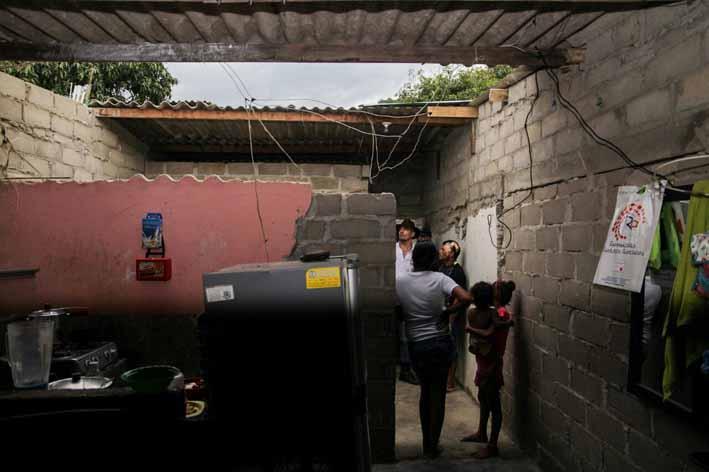 Distrito atendió emergencia  por vivienda que colapsó en  el  Once de Noviembre