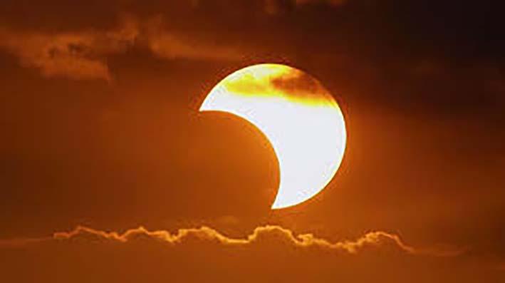 Eclipse solar se verá en su  máximo esplendor a las 2:35 p.m. en Santa Marta