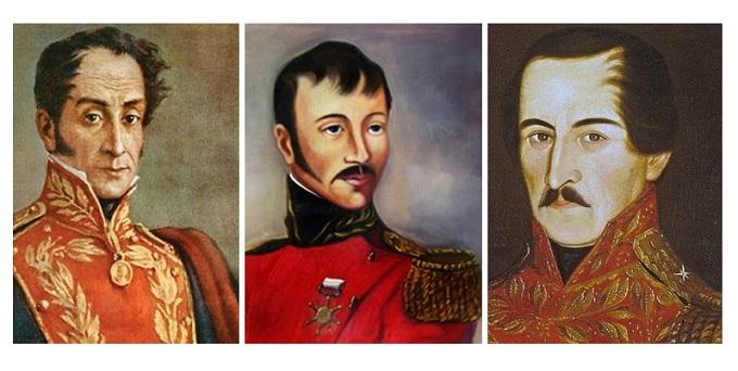 Los Heroes De La Batalla De Boyaca