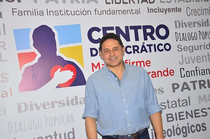 Henríquez recibió a EL INFORMADOR en la sede del partido Centro Democrático en Santa Marta.