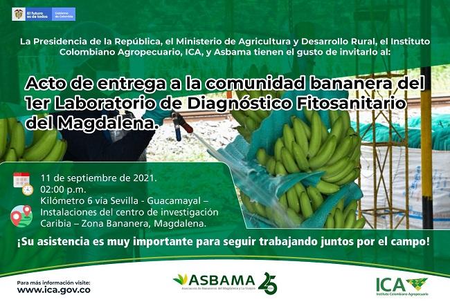 Presidente Duque inaugurará el primer Laboratorio de Diagnóstico Fitosanitario del Magdalena - Noticias de Colombia