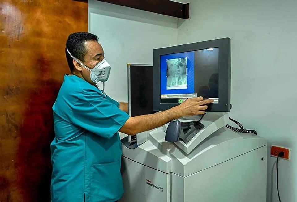 Entra en funcionamiento el servicio de Rayos X en el Hospital Local de Algarrobo - Noticias de Colombia