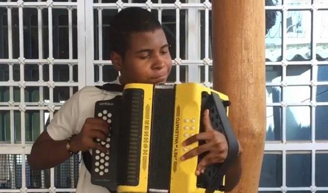 Jerónimo Villazón Murillo, de Valledupar, Rey en la modalidad acordeonero.