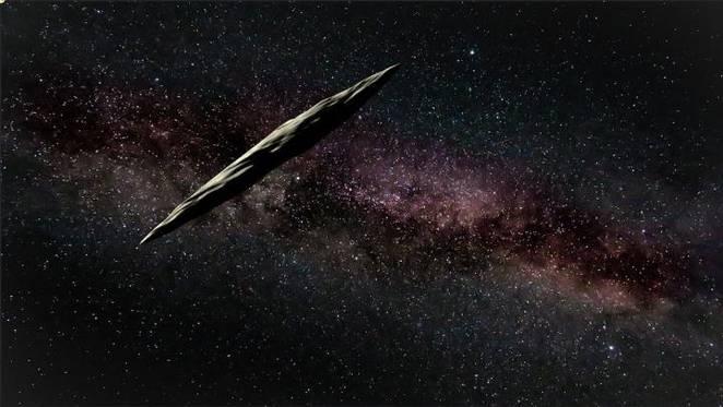 Resultado de imagen para El primer asteroide interestelar conocido, llamado Oumuamua