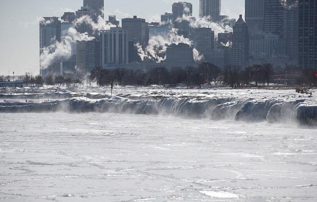 Resultado de imagen para Al menos diez muertos por la ola de frío polar en EEUU
