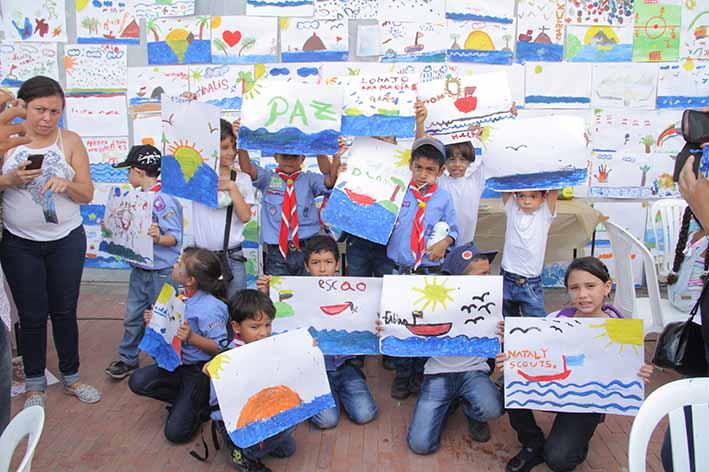 Los Niños Pintan su Mar colorearán los Juegos Bolivarianos
