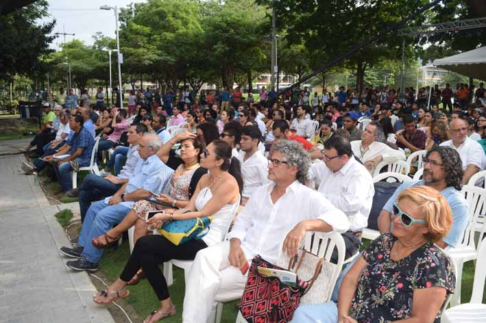 Una nutrida asistencia y positiva respuesta a este evento logró convocar el foro internacional en el cual se abordaron interesantes temas de la televisión.
