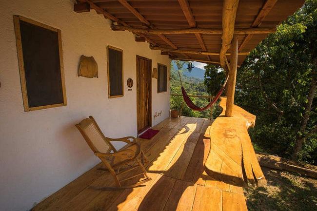 El hotel es ideal para quienes quieren estar en contacto con la naturaleza.