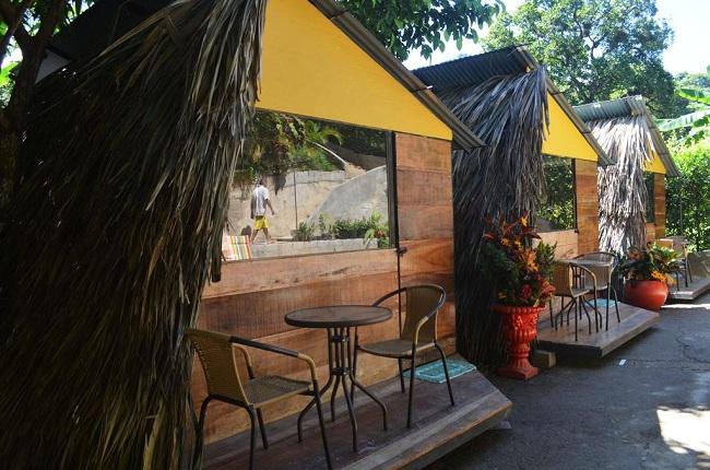 Instalaciones del hotel Costeño River en Minca.