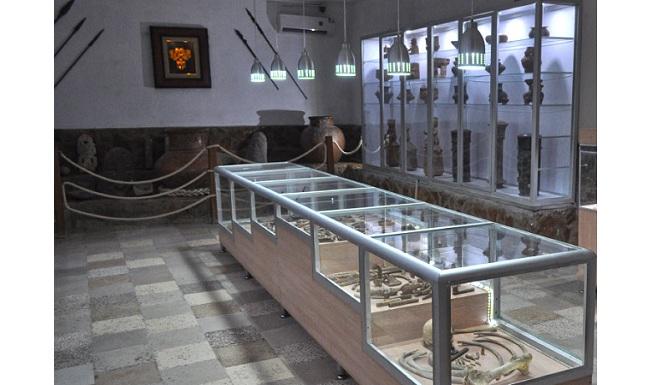 Museo Tayrona, ubicado dentro de las instalaciones del Acuario Rodadero.