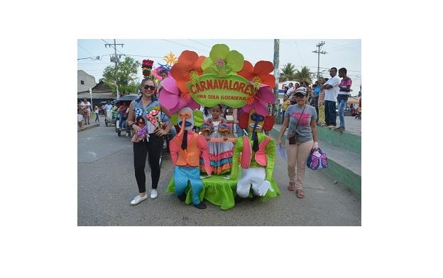 Los Carnavales son unas de las celebraciones más alegres y coloridas de Plato. Foto: Alcaldía de Plato