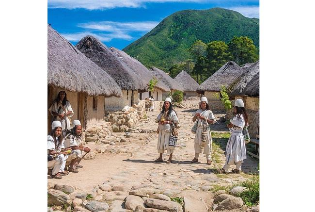 La visita a Pueblo Bello permite conocer un poco más acerca de la cultura arhuaca.