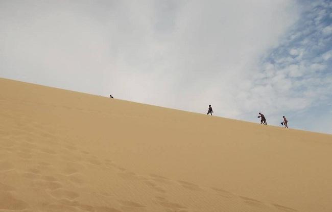 Dunas de Taroa, en Punta Gallinas. (Foto: @aatre).