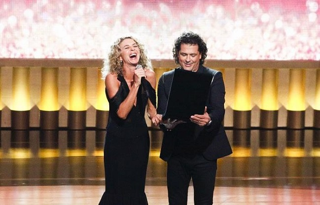 Carlos Vives y Margarita Rosa de Francisco.
